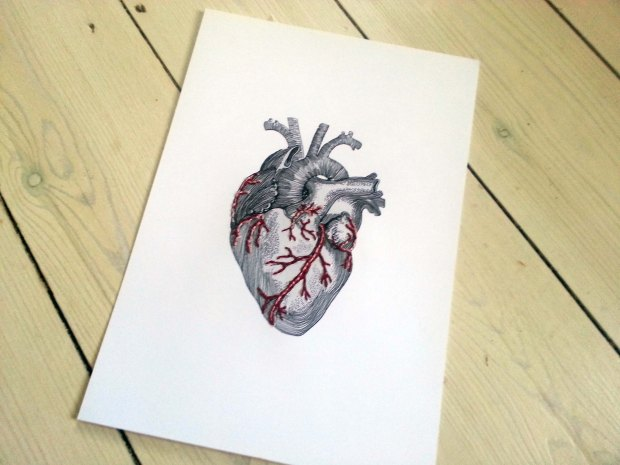 Embroidery Heart